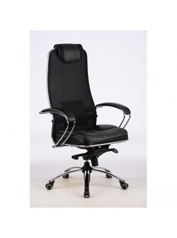 Кресло для руководителя SAMURAI SL-1 ЧЕРНЫЙ ПЛЮС