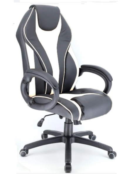 Кресло для геймеров Wing ((Экокожа Белый))