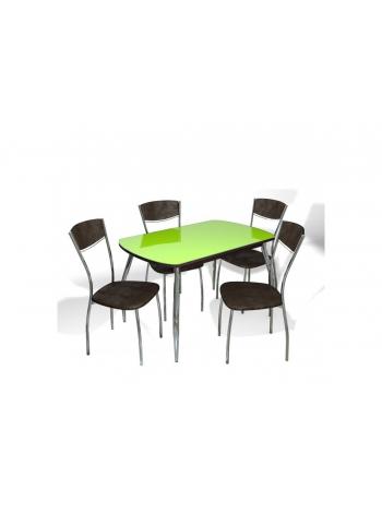 Стол Прага + 4 стула Куба