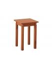 Стол поворотно-раскладной + 4 табурета прямая нога