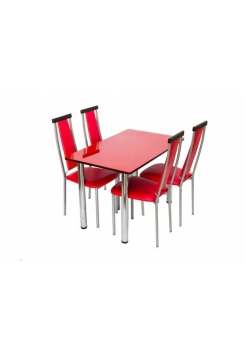 стол Тефи + 4 стула Барон